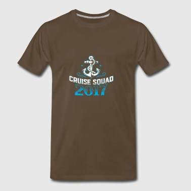 Cruise Squad Shirts Funny Family Cruise 2017 Tee - Men's Premium T-Shirt