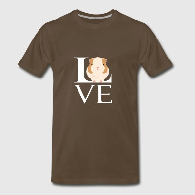 Love Guinea Pigs Funny Animal Lover - Men's Premium T-Shirt