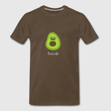Avocado Funny Fruit Food Costume T Shirt - Men's Premium T-Shirt