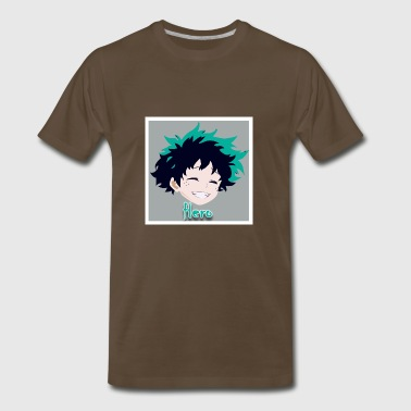 Hero-Shirt / Midoriya - Men's Premium T-Shirt