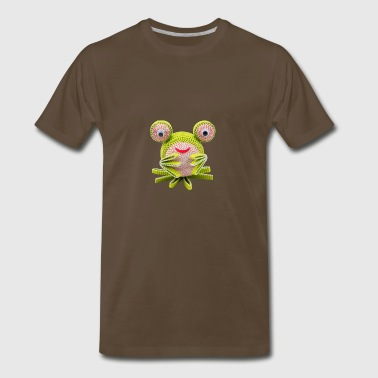 Crazy Paper Craft - Frog - Men's Premium T-Shirt