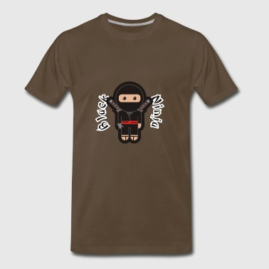 Black Ninja - Men's Premium T-Shirt