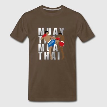 MUAY THAI boxing - Men's Premium T-Shirt