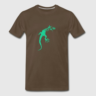Green Gecko / Gekko - Men's Premium T-Shirt