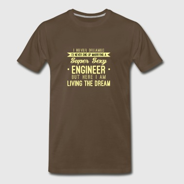 Funny Quotes for Engineers - Men's Premium T-Shirt