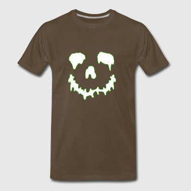 jackolantern white - Men's Premium T-Shirt