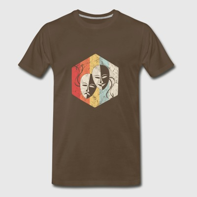Shirt as a gift for Actor or performer - Mask - Men's Premium T-Shirt