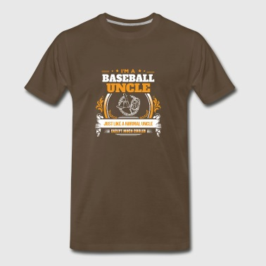Baseball Uncle Shirt Gift Idea - Men's Premium T-Shirt