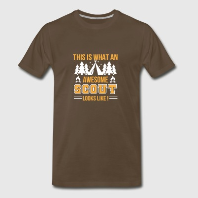 This Is What An Awesome Scout Looks Like - Men's Premium T-Shirt