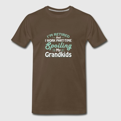 Retirement Grandparents Spoiling Grandkids - Men's Premium T-Shirt