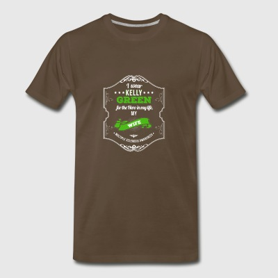 Hero of My Life My Wife MS Awareness - Men's Premium T-Shirt