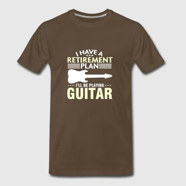 Gift For Guitar Lover. Retired T-Shirt - Men's Premium T-Shirt