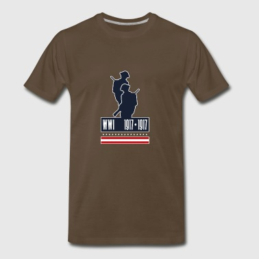 WWI 1917 1918 - Men's Premium T-Shirt