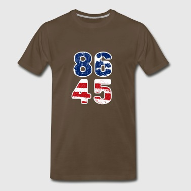 86 45 Impeach this Guy - Men's Premium T-Shirt