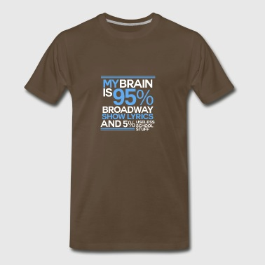 Musical Theatre - Broadway Show - Men's Premium T-Shirt