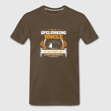 Spelunking Uncle Shirt Gift Idea - Men's Premium T-Shirt