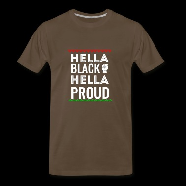 Black Pride Melanin Apparel - Men's Premium T-Shirt