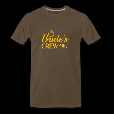 Bride's Crew - Men's Premium T-Shirt