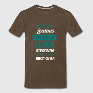 Awesome At Thirty-Seven - Men's Premium T-Shirt
