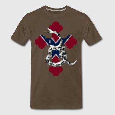 Confederate Flag - Men's Premium T-Shirt