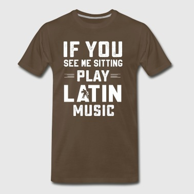 Funny latin music tee shirt - Men's Premium T-Shirt