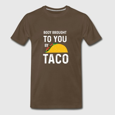Funny Taco Designs - Men's Premium T-Shirt