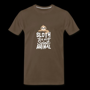 Cute Sloth is My Spirit Animal T-Shirt - Men's Premium T-Shirt