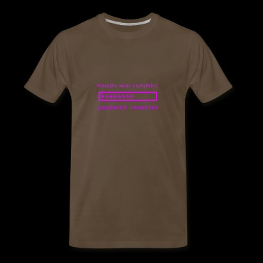 World's Most Expensive Password Resetter Pink - Men's Premium T-Shirt