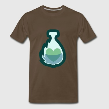 Mint Potion Logo - Men's Premium T-Shirt