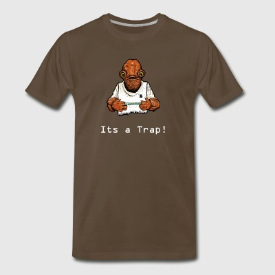 Its A Trap - Men's Premium T-Shirt