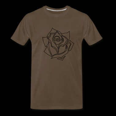 golden rose - Men's Premium T-Shirt