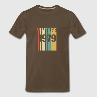 Vintage 1979 Retro - Men's Premium T-Shirt