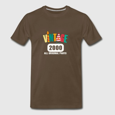 Vintage 2000 All Original Parts - Men's Premium T-Shirt