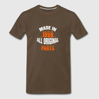 Made In 1959 All Original Parts - Men's Premium T-Shirt