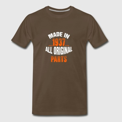 Made In 1937 All Original Parts - Men's Premium T-Shirt