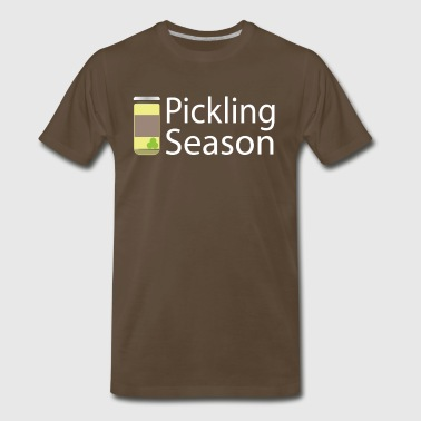 Pickling Season Graphic Tee Shirt - Men's Premium T-Shirt