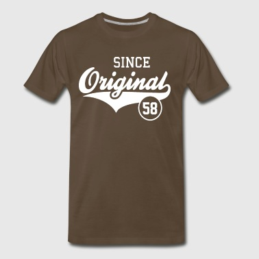 Original Since 1958 - Men's Premium T-Shirt