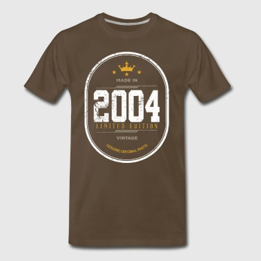 Made In 2004 Limited Edition Vintage - Men's Premium T-Shirt