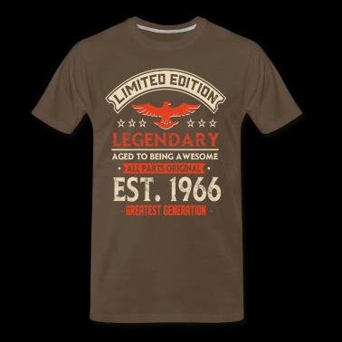Limited Edition Legendary Est 1966 - Men's Premium T-Shirt
