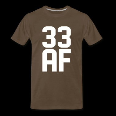 33 AF Years Old - Men's Premium T-Shirt