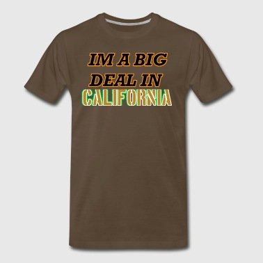 California State Slogans and Mottos Shirts - Men's Premium T-Shirt