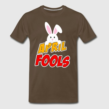 April Fools Day Happy Easter 2018 - Men's Premium T-Shirt