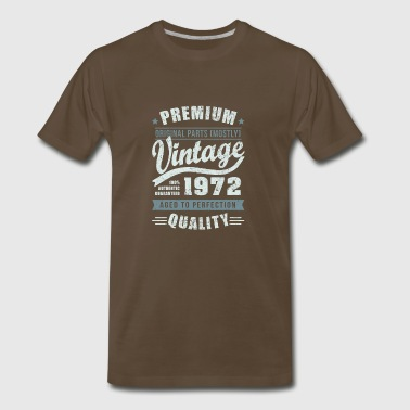 Birthday 1972 Aged to perfection - Men's Premium T-Shirt