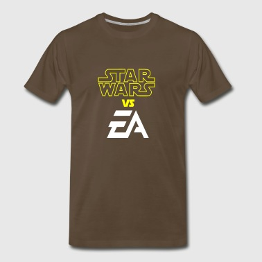 star wars - VS -EA - Men's Premium T-Shirt