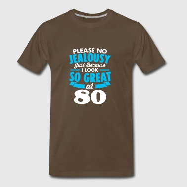 80 - JEALOUSY - Men's Premium T-Shirt