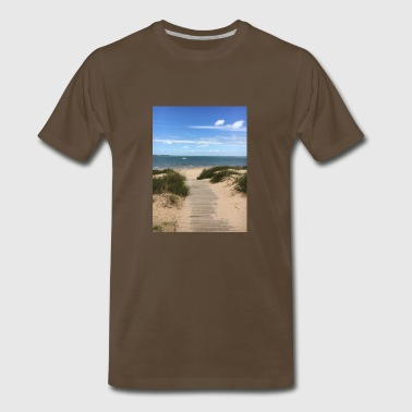 Sand in My Sandals - Men's Premium T-Shirt