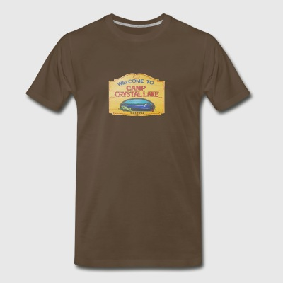 camp crystal lake sign - Men's Premium T-Shirt