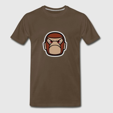 Monkey Angry mono - Men's Premium T-Shirt