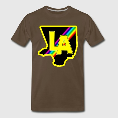 Los Angelist Logo Prints - Men's Premium T-Shirt