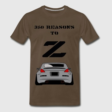350 RESONS TO Z - Men's Premium T-Shirt